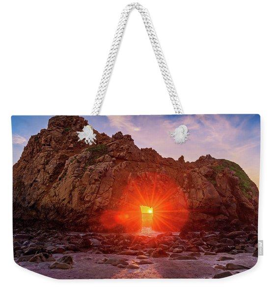 Sunset Through  Weekender Tote Bag