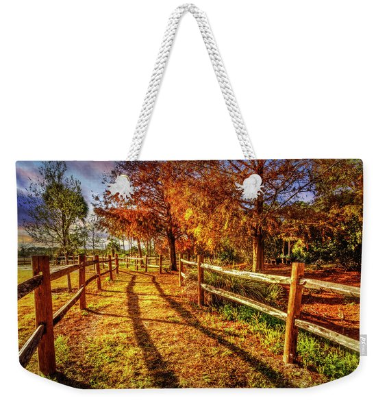 Sunset Trail Weekender Tote Bag