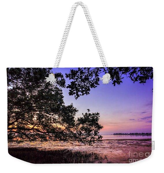 Sunset Under The Mangroves Weekender Tote Bag