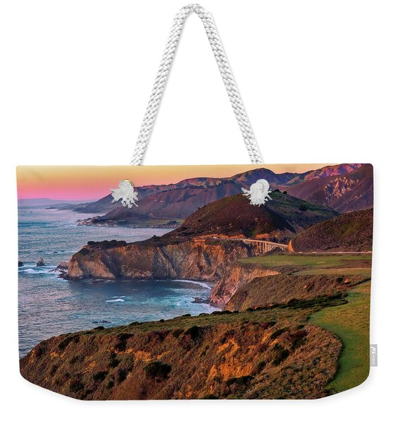 Sunset View From Hurricane Point Weekender Tote Bag