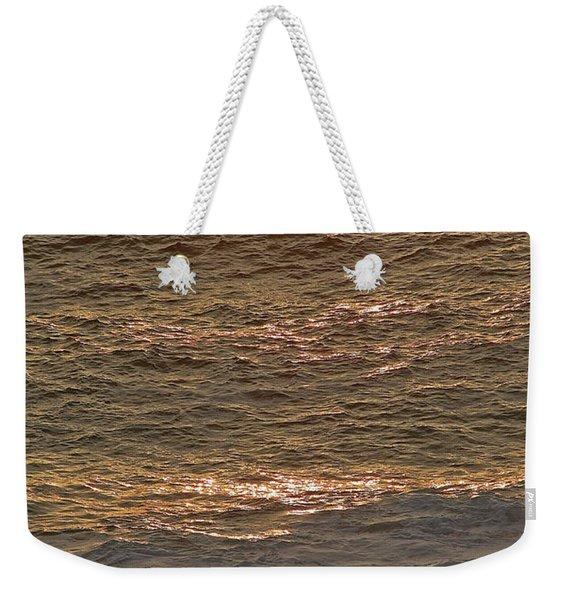 Sunset Waves Over Carmel Beach Weekender Tote Bag
