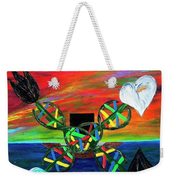 Sunseth In Atlantis Weekender Tote Bag