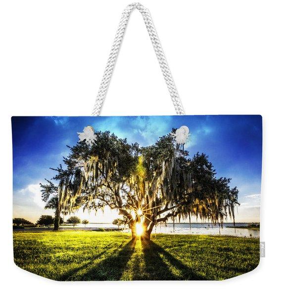 Sunshine In The Oaks Weekender Tote Bag