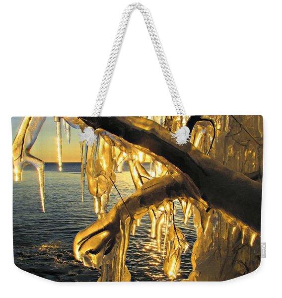 Sunshine Is Fine Weekender Tote Bag