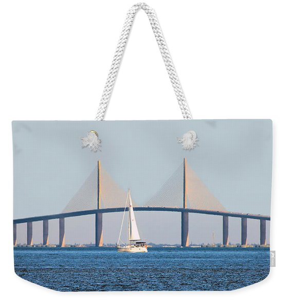Sunshine Skyway Bridge #2 Weekender Tote Bag