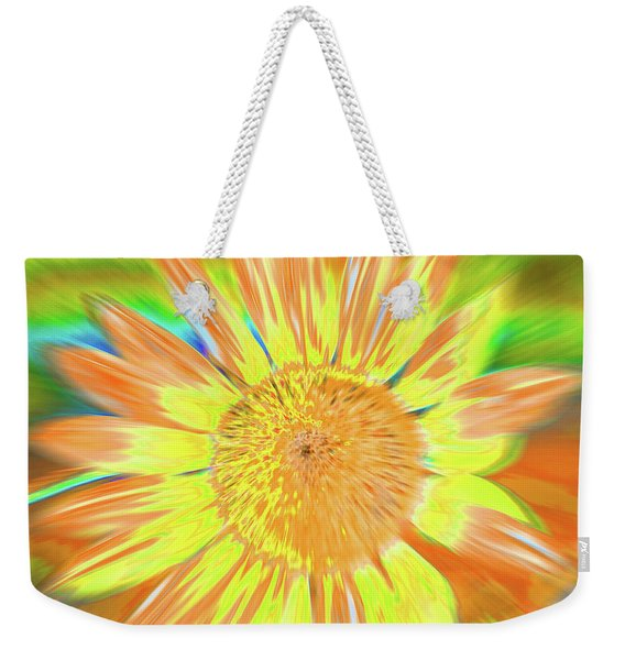 Weekender Tote Bag featuring the photograph Sunsoaring by Cris Fulton