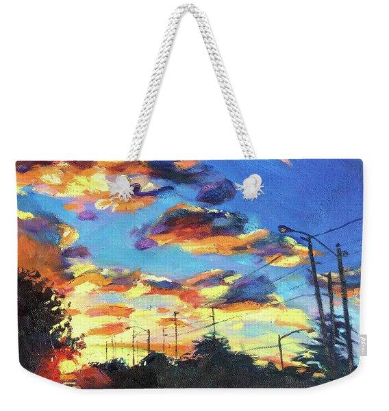 Sunward Weekender Tote Bag