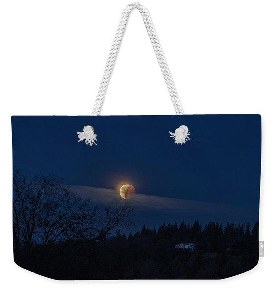 Super Blood Moon Weekender Tote Bag