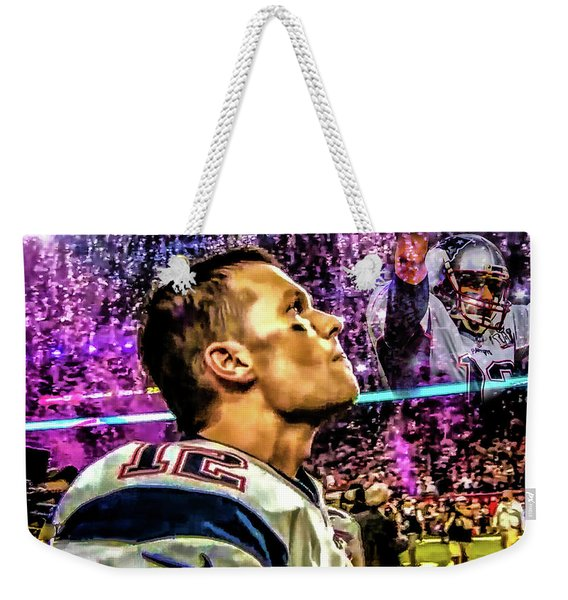 Super Bowl 53 - Tom Brady Weekender Tote Bag