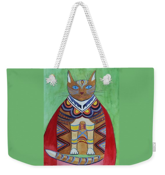 Super Cat Weekender Tote Bag