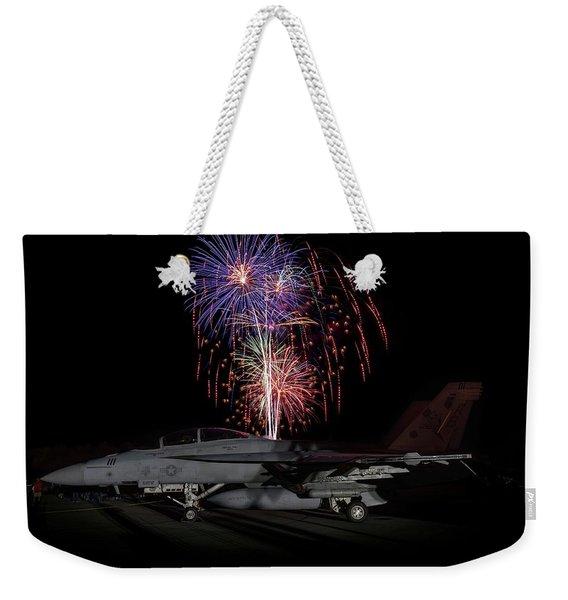 Super Hornet Celebration Weekender Tote Bag