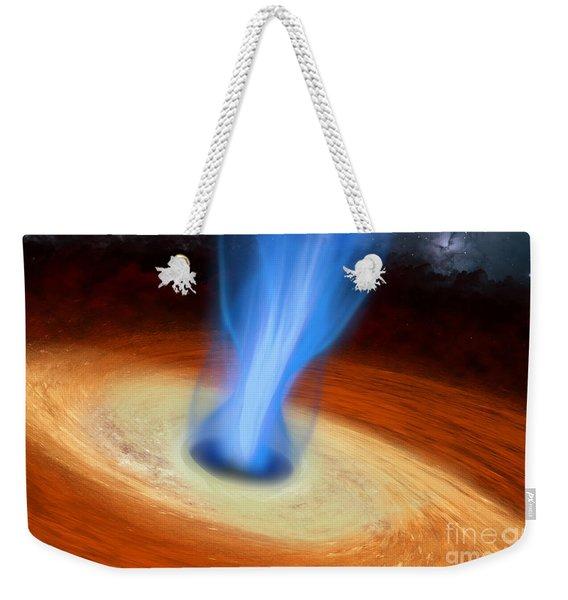 Super Massive Black Hole Weekender Tote Bag