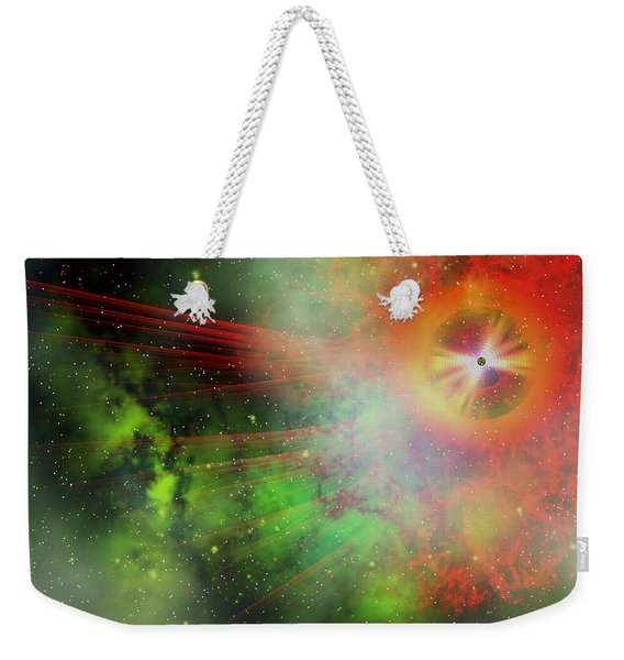 Super Massive Star Weekender Tote Bag