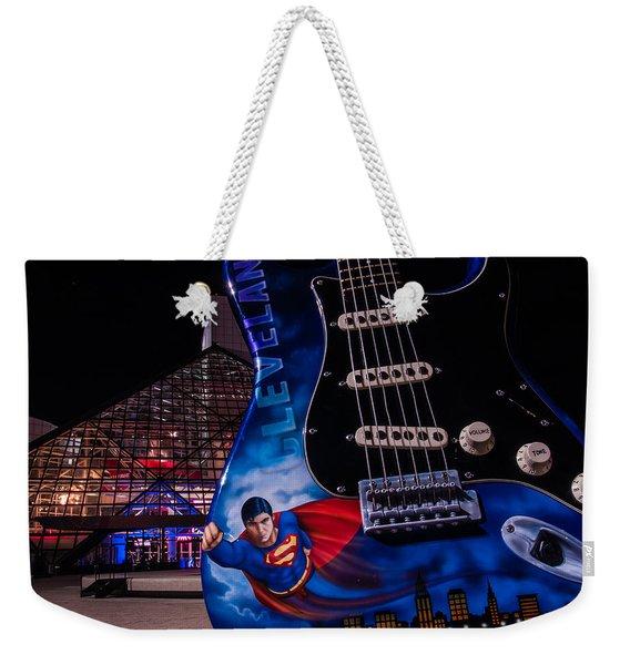 Superman Rocks Weekender Tote Bag