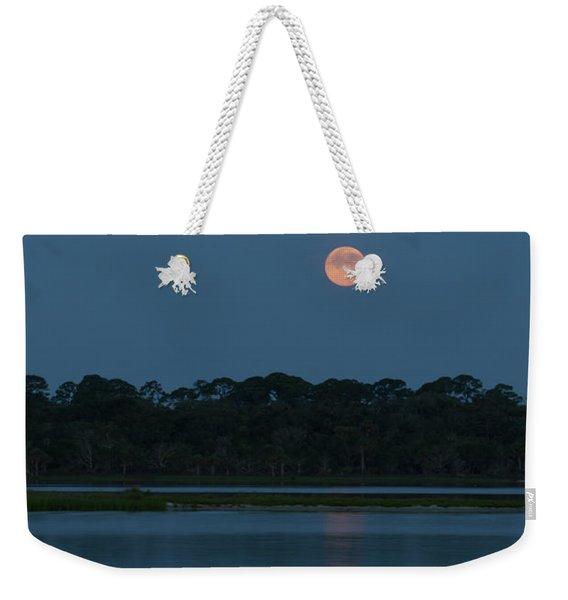 Supermoon Dawn 2013 #2 Weekender Tote Bag