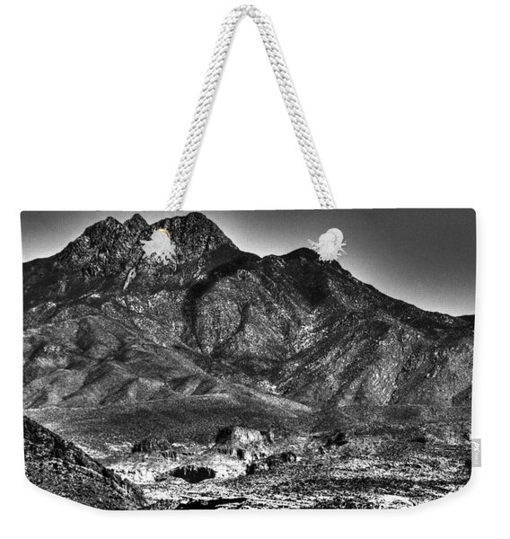 Four Peaks From Lost Dutchman State Park Weekender Tote Bag