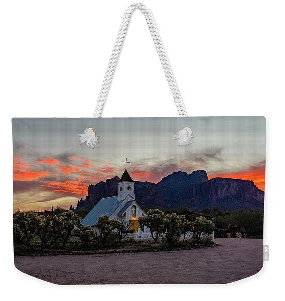Superstition Sunrise II Weekender Tote Bag