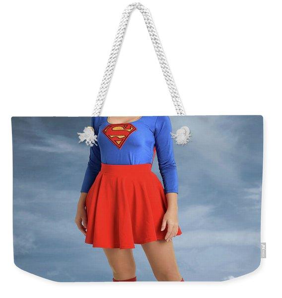 Superwoman Weekender Tote Bag
