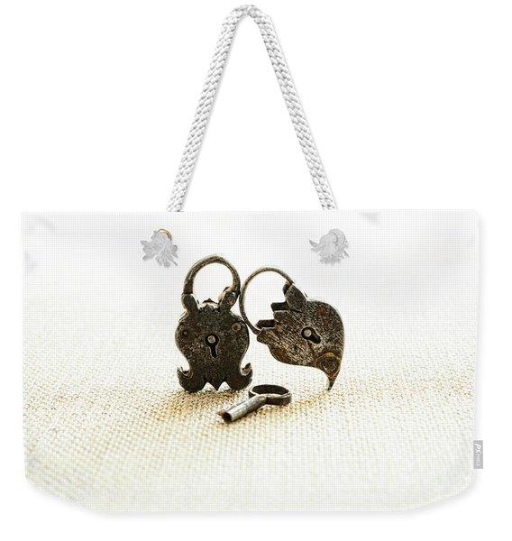 Supported Weekender Tote Bag
