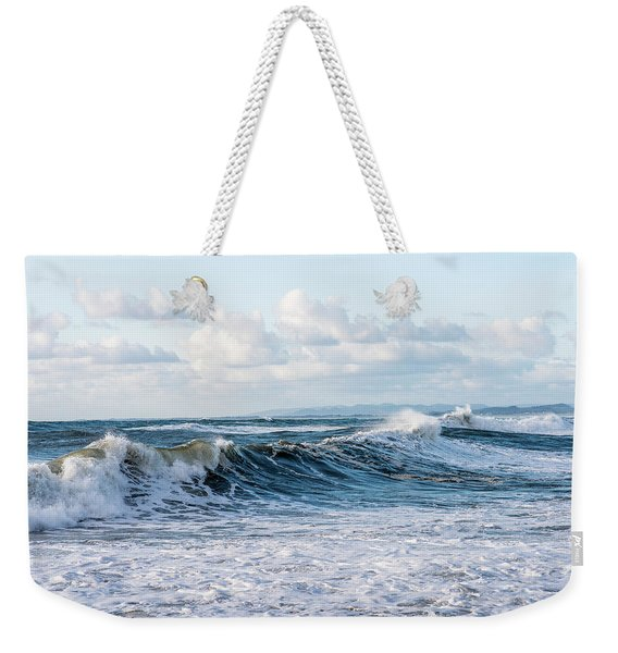 Surf And Sky Weekender Tote Bag