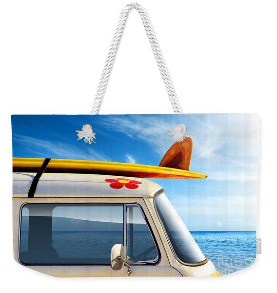 Surf Van Weekender Tote Bag