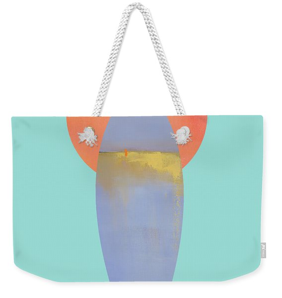 Surfboard Art Print Weekender Tote Bag