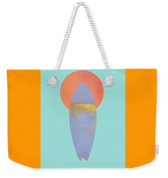 Surfboard Art Print Weekender Tote Bag