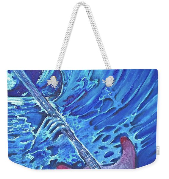 Surfer Bass Weekender Tote Bag