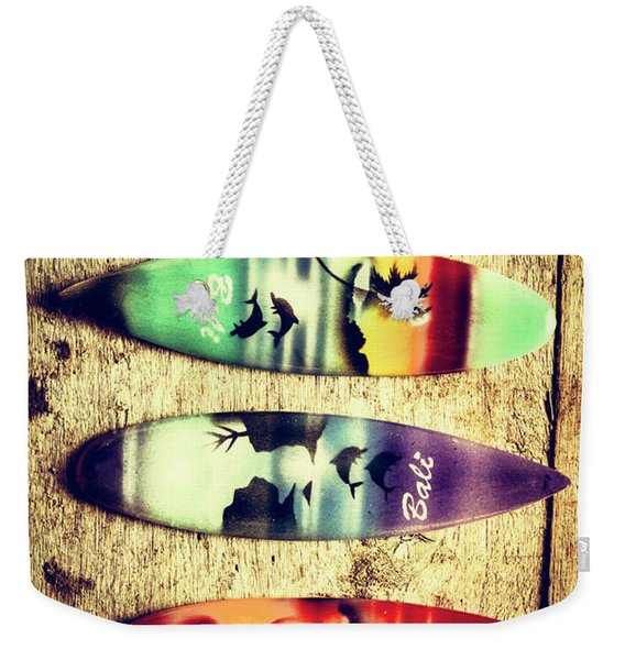 Surfers Parade Weekender Tote Bag