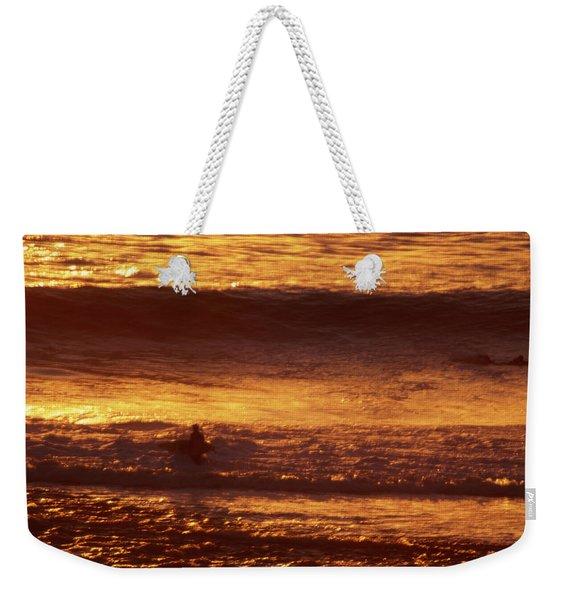 Surfing California Weekender Tote Bag
