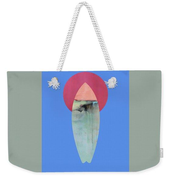 Surfing Print Weekender Tote Bag