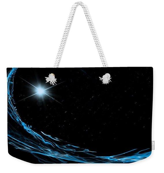 Surfing The Stars Weekender Tote Bag