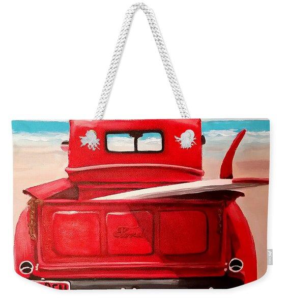 Surfn Weekender Tote Bag
