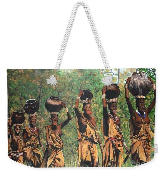 Blaa Kattproduksjoner        Surma Women Of Africa Weekender Tote Bag