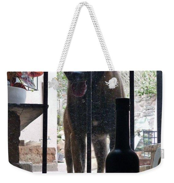 Surprise Visitor Weekender Tote Bag