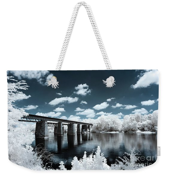 Surreal Crossing Weekender Tote Bag