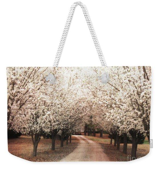 Dreamy Dogwood Trees South Carolina - Spring Blossom Trees South Carolina Weekender Tote Bag