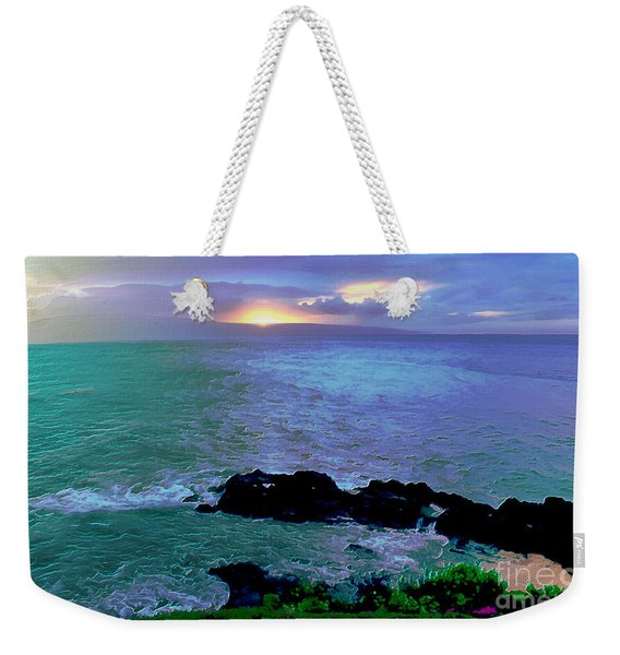Surreal Paradise Weekender Tote Bag