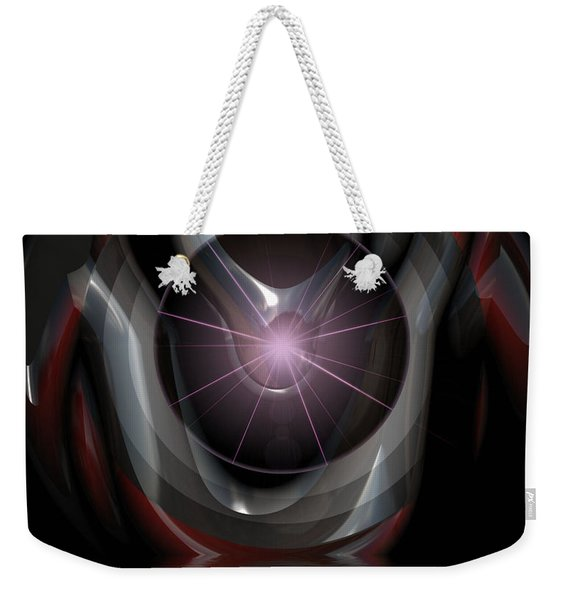 Surreal Reflections Weekender Tote Bag