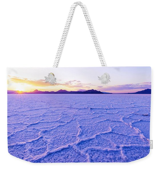 Surreal Salt Weekender Tote Bag