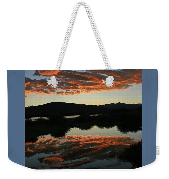 Surreal Sunrise Weekender Tote Bag
