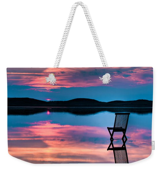 Surreal Sunset Weekender Tote Bag