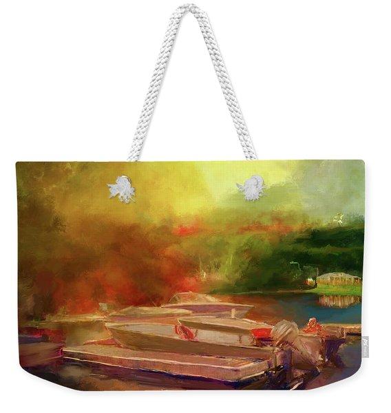 Surreal Sunset In Spanish Weekender Tote Bag