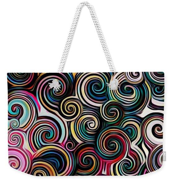 Surreal Swirl  Weekender Tote Bag
