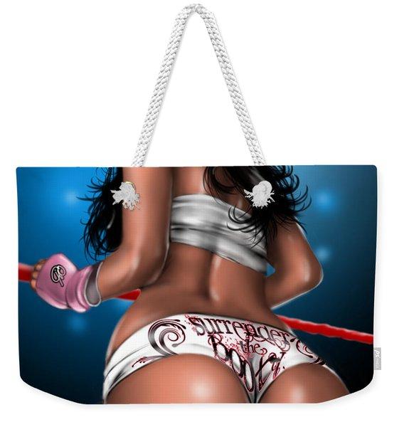 Surrender The Booty Weekender Tote Bag