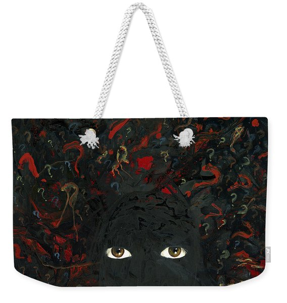 Surrounded By ? Weekender Tote Bag