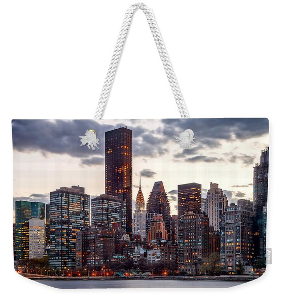 Surrounded By The City Weekender Tote Bag