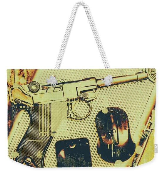 Surveillance State Weekender Tote Bag