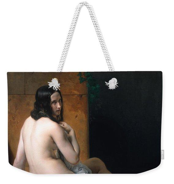 Susanna At Her Bath Weekender Tote Bag
