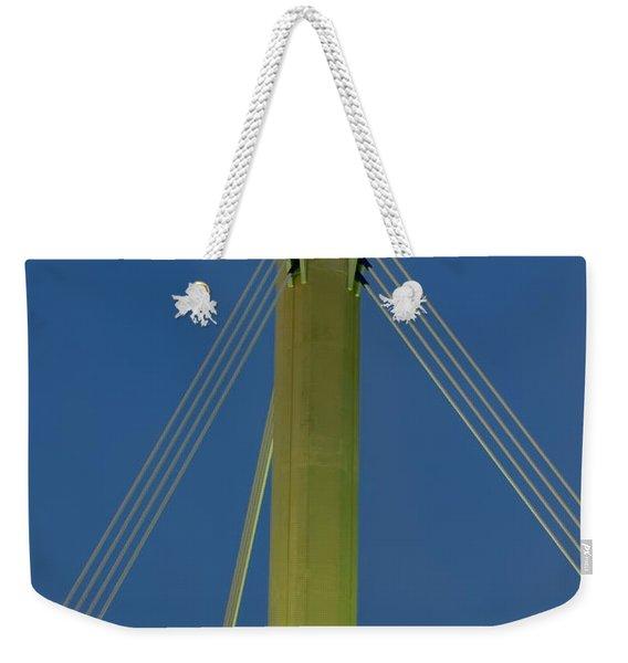 Suspension Pole Weekender Tote Bag